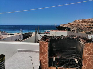 Casa Teresita On the Beach with Ocean View, Terrace & Wi-Fi; Pets Allowed