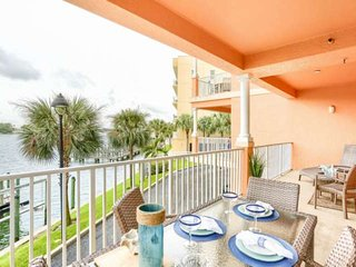 Serene Marina Views of Dolphins, Free Wi-Fi, Cable & Phone, Pool, Balcony,W/D -2