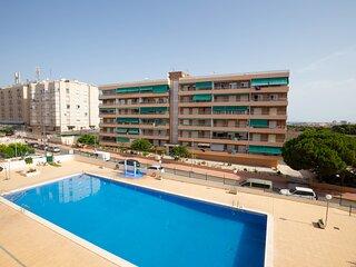 Costa Blanca South - 2 Bed/3rd Floor Apartment - Wi-Fi-A/C/Pool - Punta Prima