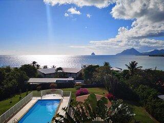 L Hibiscus Sainte-Luce piscine et plage Martinique