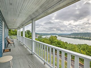 NEW! Queen City Home w/River View - 3 Mi to Dtwn!