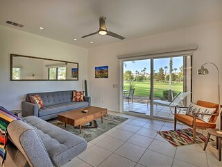 NEW! Palm Springs Resort Condo on Golf Course!