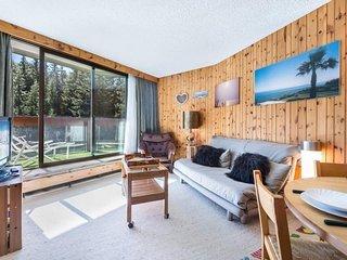 Jardin Alpin 102 : Emplacement exceptionnel pour cet apartement exposé Sud.