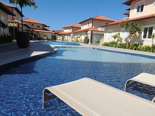 Casa super confortável, 3 quartos em condomínio privativo em Geribá/ Búzios (400
