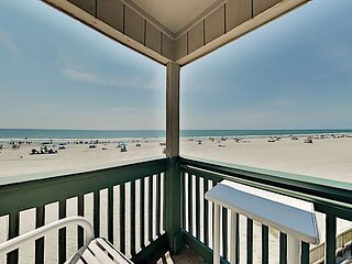 Ocean-Front Condo with Pool & Private Balcony | Wonderful Grand Strand Locale