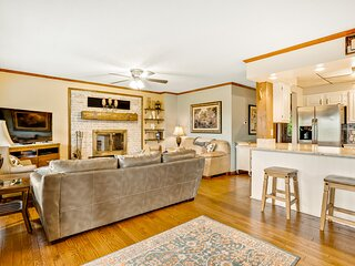 New listing! Family & dog-friendly retreat w/ detached game room & mountain view