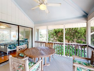 Spacious seaside home w/ community pool access- walk to beach, shops & dining!