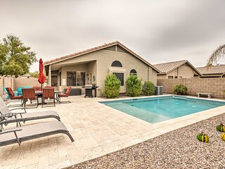 NEW! Maricopa Getaway w/ Private Pool + Fire Pit