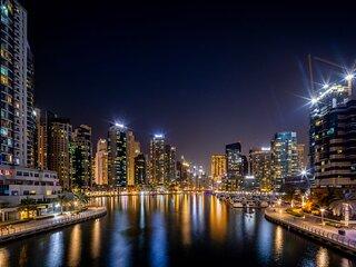 Modern 1BR w/ Spectacular Marina Views