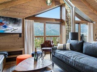 Chalet Palou: Chalet moderne avec jacuzzi et sauna