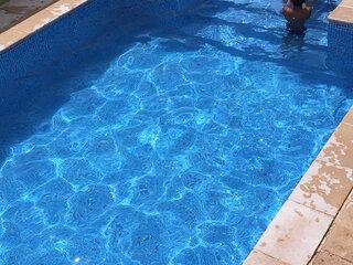 Casa con gran piscina particular cerca playa