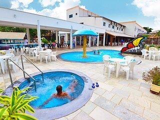 Flat Maravilhoso + Acesso Gratis a Parque Aquatico