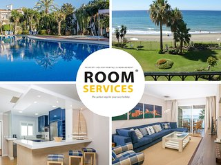 HB Comfortable Beachfront Holiday Apartment