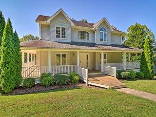 NEW! Asheville Family House w/ Wraparound Deck!