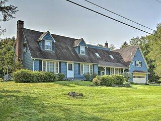 NEW! Private Catskills Retreat w/Pond, Yard & More