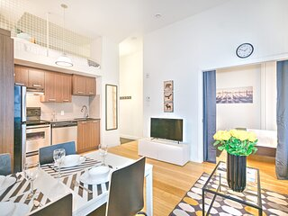 Liv MTL Save 60% Main 204 Smart 1Br + Mezzanine Family + Pet Friendly*