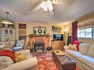 NEW! Cozy French Cottage on Cedar Creek in Ruidoso