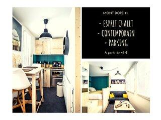 MONT-DORE #1 - Studio Esprit Chalet - 1 Chambre