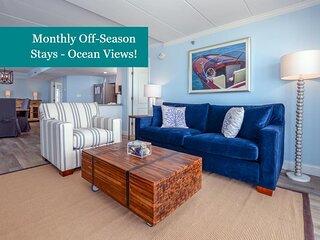 Summer Beach 508 - Renovated w/ Ocean Views & Free Linens