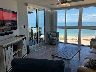 BRAND NEW Sand Key Beachfront Floor to Ceiling Views! 12th Floor Paradise