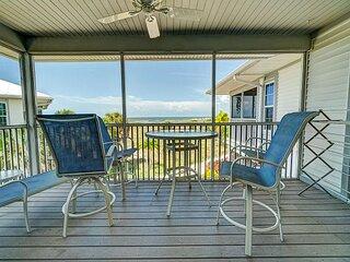Enjoy a Beautiful Gulf Sunset from the Screened Porch on Resort Villa A3221B