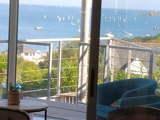 Charmante maison de vacances très belle vue mer