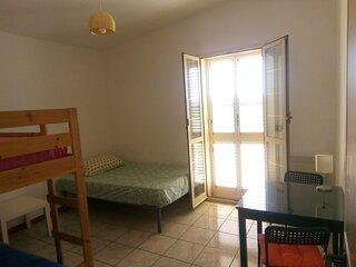 Camera 4 posti in affitto con bagno privato e Wifi - Molise