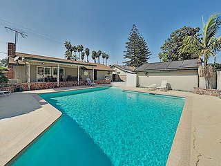 Parkside Perfection | Private Pool & Garage | Walk to Disneyland Drive
