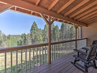 NEW! Hilltop Haven w/ Wraparound Deck + Peak Views