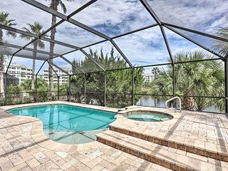 NEW! Spacious Palm Coast Oasis - Steps to Beach!