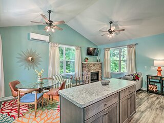 NEW! Bright Cottage on Creek - Near Hikes & Skiing