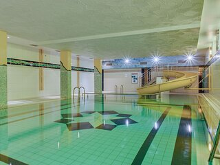 Mountainside flat with swimming pool in Hahnenklee, Harz