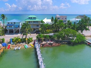Carpe Diem! Stunning FL Beach House ON Beach +Dock!  << $100 per night / Bedroom