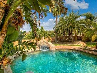 Zen Luxury Estate | Saltwater Pool, Hot Tub & Outdoor Kitchen | On Wine Trail