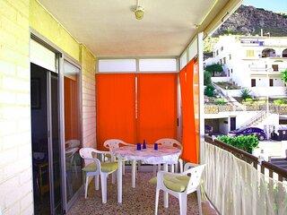 Zona terraza donde puedes desayunar, comer etc