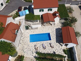 Villa Fuga, Dalmatia, Croatia traditional countryside stonehouse, eco-friendly