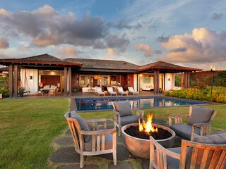 Luxury Poipu Home With Ocean View, Pool, Privacy, A/C: Hale Pomaikai'i Mau