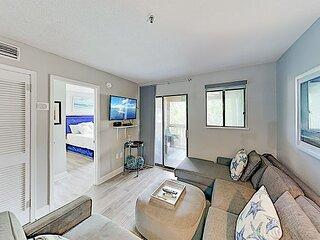 Luxe Beach Oasis | Three Pools, Tennis, Basketball & Hot Tub | Walk to Beach