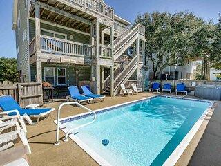A DeWar's Dream | 820 ft from the Beach | Dog Friendly, Private Pool, Hot Tub |