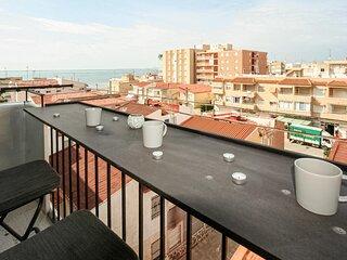 Nice apartment in Santa Pola with 3 Bedrooms (EBI336)