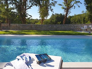 Stone villa with private pool tranquil location in Istria