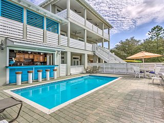 NEW! Spacious Santa Rosa Beach Home w/ Pool + Bar!