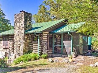 Rustic-Yet-Cozy Cabin w/ Patio, 12Mi to Asheville!