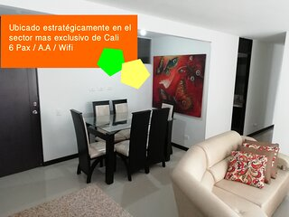 Modern Three Bedroom Apartment In Cali (Norte)