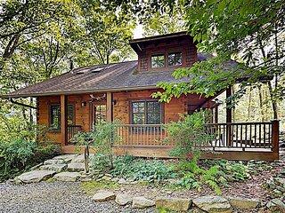 Elkhorn Cabin | Idyllic Craftsman Home | Sauna, Game Room & Mins to Asheville
