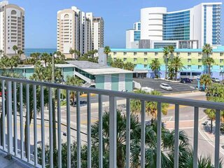 Newly Listed and Newly Furnished! Waterfront Views, Heated Pool, Private Balcony