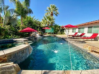 Gorgeous Palm Desert Oasis with Backyard Paradise, Pool, Spa & Private Casita