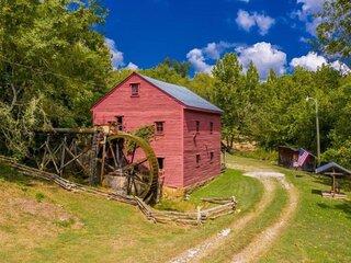 1798 Grist Mill and Cabin on Dumplin Creek
