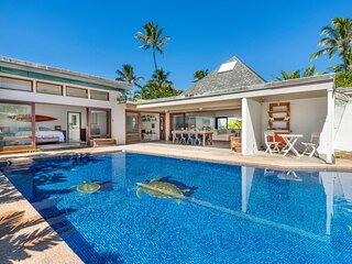 Beautiful Kailua Beachside Home w/Pool & AC. Lokomaika'i Kailua