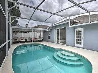NEW! 1-Story Apopka House w/ Private Lanai + Pool!
